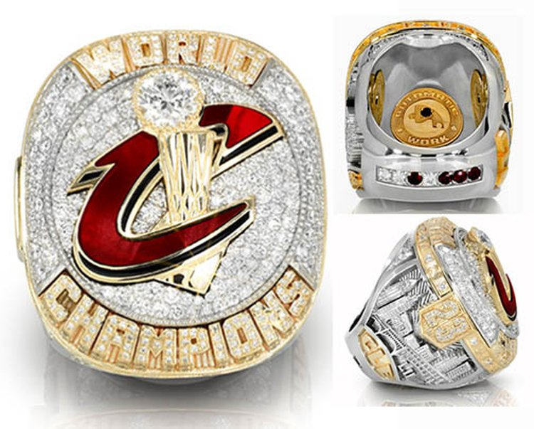 Cleveland Cavaliers' First-Ever Championship Rings Are Teeming With Symbolism... and 400 Diamonds