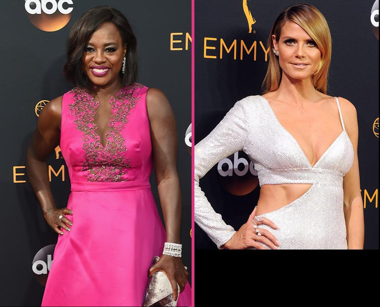 TV's Hottest Stars Step Out in Cool White Platinum at the 68th Primetime Emmy Awards