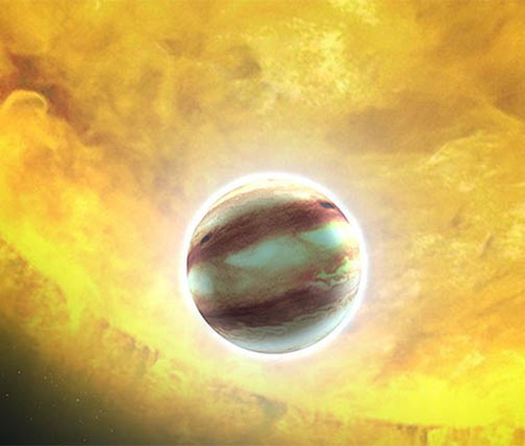 Clouds Packed With Rubies and Sapphires Circle the Distant Exoplanet HAT-P-7b, Say UK Astronomers