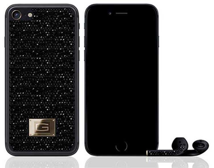 Gresso's Black Diamond-Encrusted iPhone 7 Carries a Price Tag of $500,000