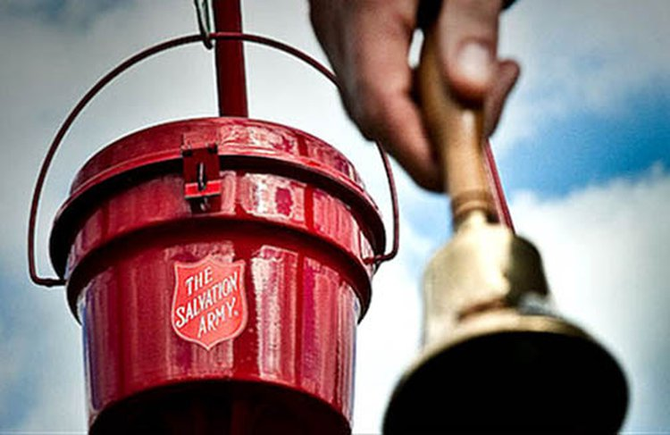 Gold Coin Donations Make the Holiday Bright for The Salvation Army