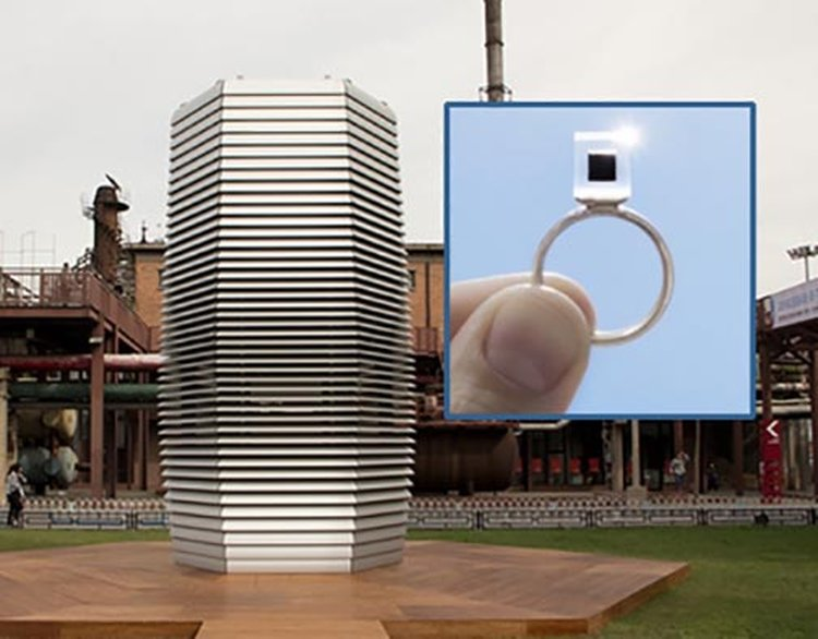 Smog Free Tower Is Turning Beijing's Polluted Air Into Fun Jewelry