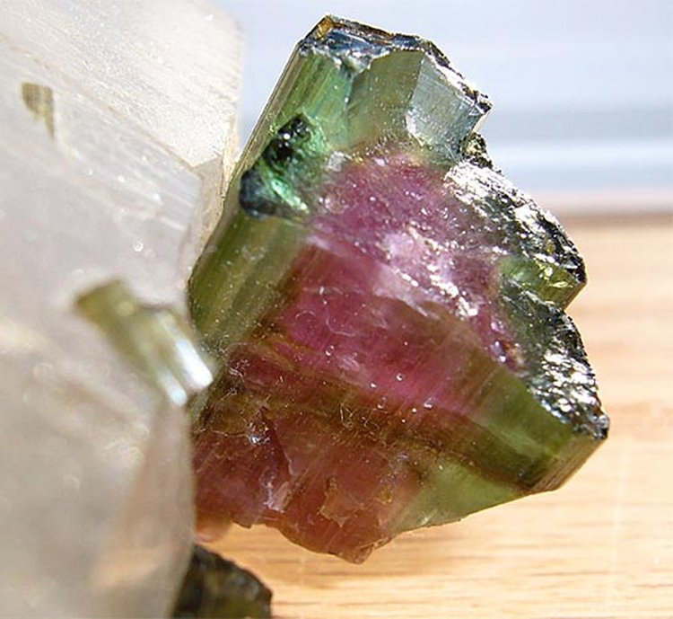 Watermelon Tourmaline Is a Delectable Multicolor Version of October's Birthstone